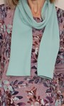 Anna Rose Botanical Printed Brushed Knit Top with Scarf Dusty Pink/Multi - Gallery Image 3
